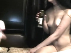 Fabulous Homemade record with Small Tits, Big Dick scenes