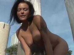 Amazing pornstar in crazy striptease, latina sex scene