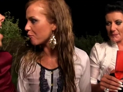 peeing beauties in crew swaaping piss and cum