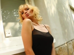 Milf Thing Silvya and the 3 dicks none too small all just right