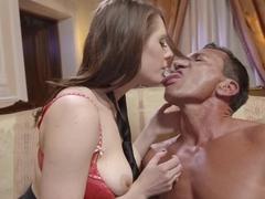 Incredible pornstar Samantha Bentley in horny creampie, hairy adult scene