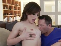 Hottest pornstar Courtney Shea in amazing small tits, facial porn scene