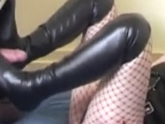 French mistress fucking her hot submissive male slave
