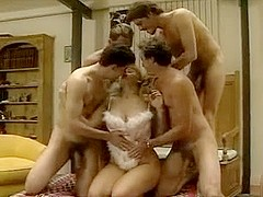 Gangbang with Kim Chambers