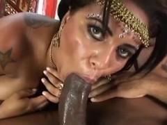Amazing India milf rides a big dick