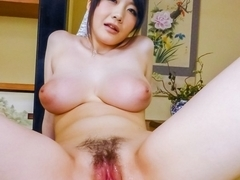 Amazing Japanese chick Rie Tachikawa in Hottest JAV uncensored Dildos/Toys clip