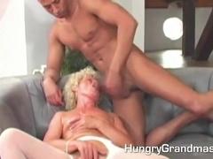 Hot hooker granny is fucking