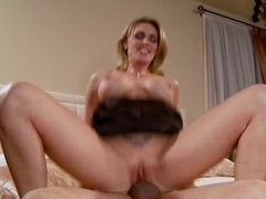 British bitch acquires drilled on the couch