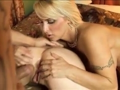 Foursome with two amazing milfs
