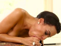 Fabulous pornstars Small Hands, Luna Star in Horny POV, Facial adult movie