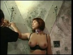 Large love muffins whore acquires her titties & nipps squeezed by her dom