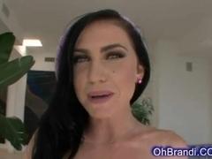 busty brunette wants hard sweaty fucking