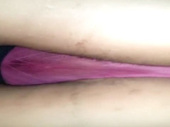 pawg seetru pink wet thong