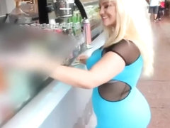 Hot Blonde PAWG interracial