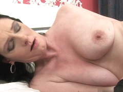 Laura Dark in Mature Self Love Scene