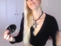 Blonde VVVIIIKKK fucks his ass with a baseball bat