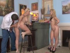 Crazy pornstar Alana Evans in Incredible Threesomes, MILF sex scene