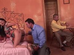 Crazy pornstar Yoha Galvez in hottest dp, facial xxx clip