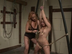 Katy Borman hot slut play the body of tied babe