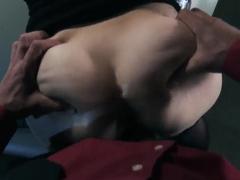 Blonde Kagney Linn Karter gets anal sex from Mark Ashley