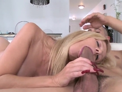 Turned on Holly gets her pierced taco rammed