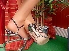 exposition de jolis pieds