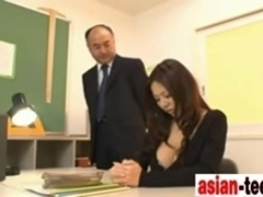 Japanese Teacher Ruri Saijo Fucked - www.asian-teens.tk -