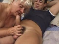 Fat Blonde Granny Vicky Salas Fucks Younger Man