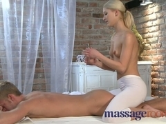 Massage Rooms Lewd Golden-Haired has squirting precious time