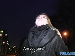PublicAgent: Blonde college girl fucks me at her student apartment