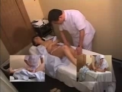 Delicious Japanese whore gets a kinky massage