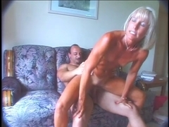 Great aged Ann masturbates and copulates!
