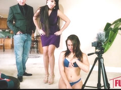 Sara Luvv,Mercedes Carrera Caught Masterbating On Job