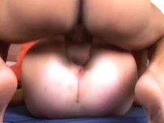 Natalie Swallows a Big Dick