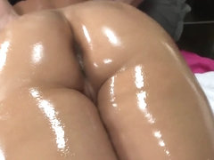 Phoenix Marie recieves an intense massage
