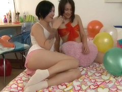 Russian Guy gets Birthday present from his female Friends
