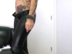 Tattooed and horny