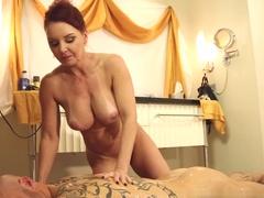 Fabulous pornstars Derrick Pierce, Janet Mason in Horny Blowjob, Redhead adult clip