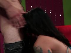 Best pornstars Karmen Karma, Tommy Pistol in Crazy Stockings, Emo xxx movie
