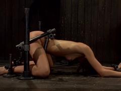 Bountiful Orgasms with Brutal Bondage