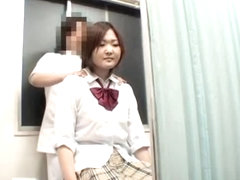 Big booty Japanese gets joy in hidden cam massage video