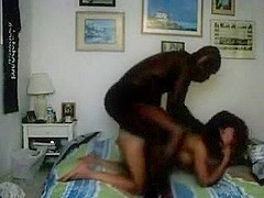 Cheating with darksome oriental wife