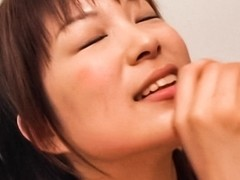 Crazy Japanese model in Amazing JAV uncensored Cumshots movie