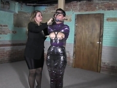 Hot Latina in a Bondage Session
