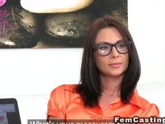 Masturbation in lesbian casting