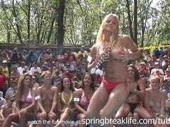 SpringBreakLife Video: Naked Bikini Contest
