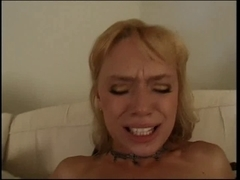 Petite scoops blond playgirl gangbanged up the one and the other ends