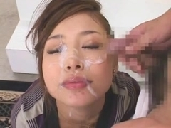Supercute JAV-Girl Shining Bukkake! by triplextroll