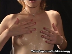 JapaneseBukkakeOrgy: The Shot