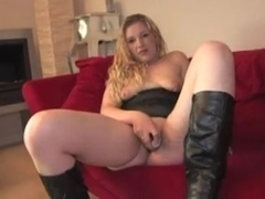 first fuck on camera for blonde slut
